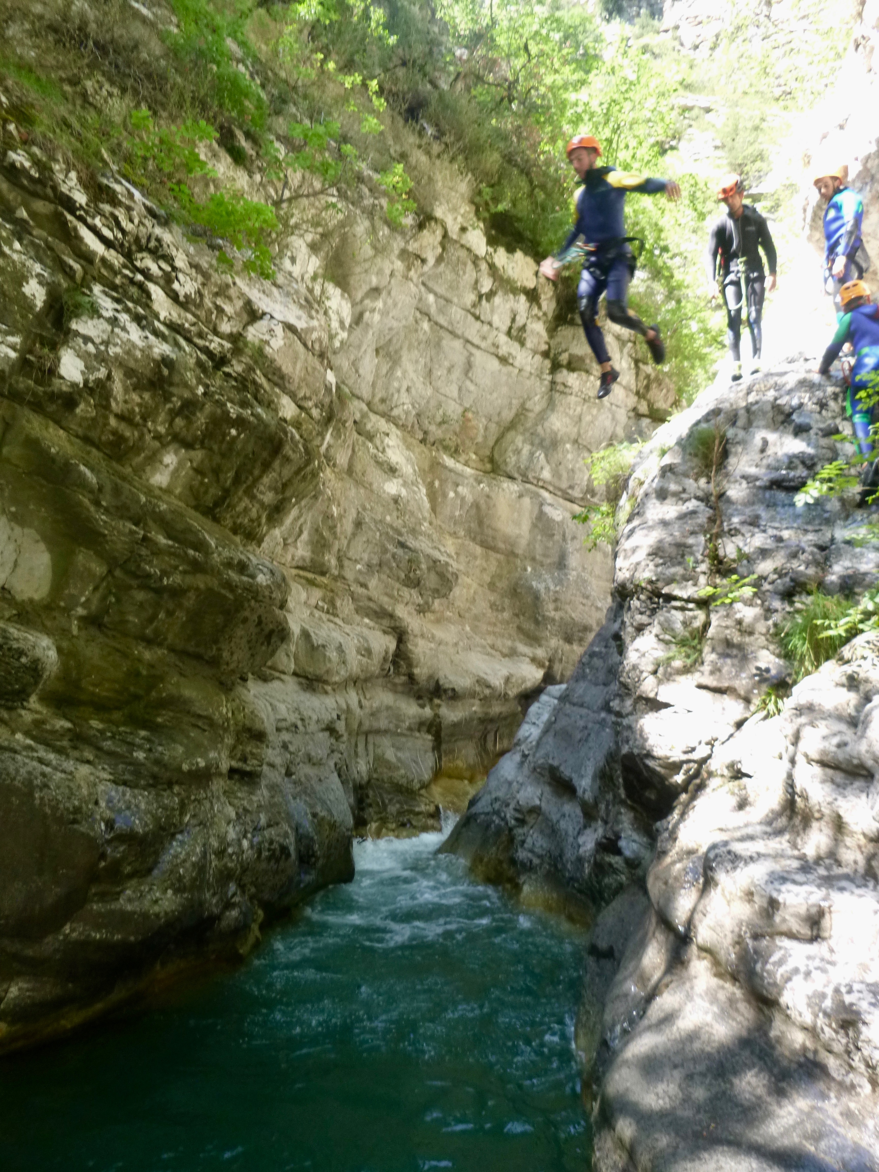 Canyoning Alpes Maritimes