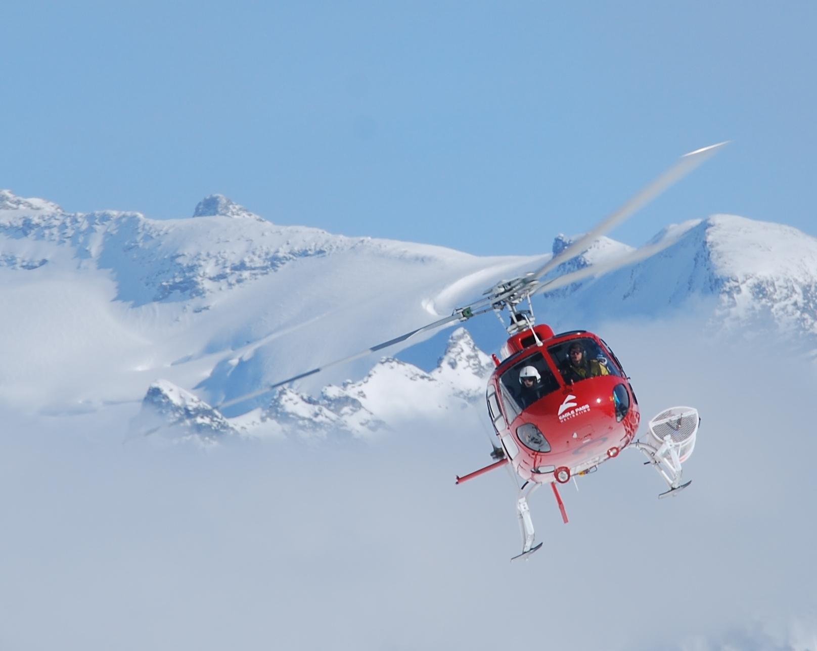 Héliski Mont Blanc 4810m