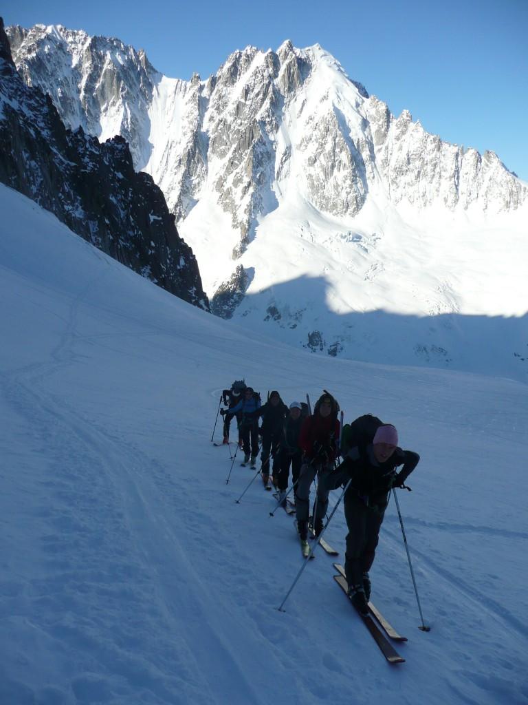 12 Montée glacier du Chardonnet