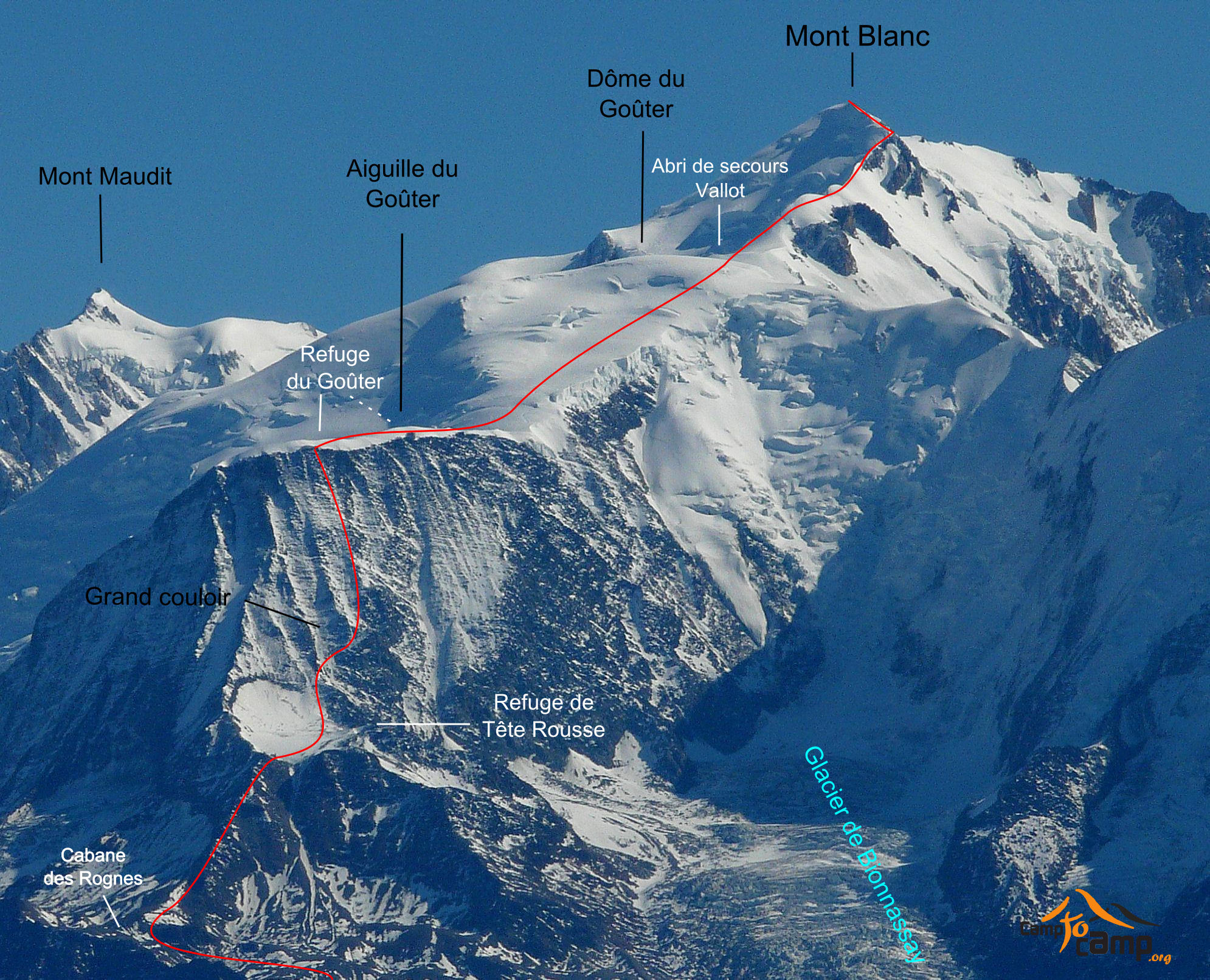Stage Mt Blanc 4810m