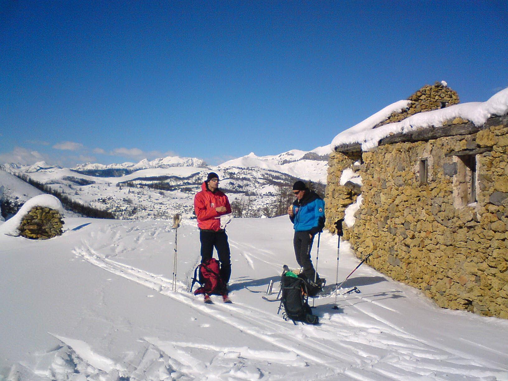 Mercantour à ski