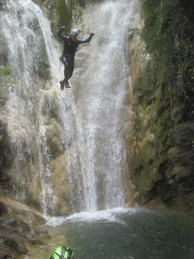 Canyon de l'Imberguet