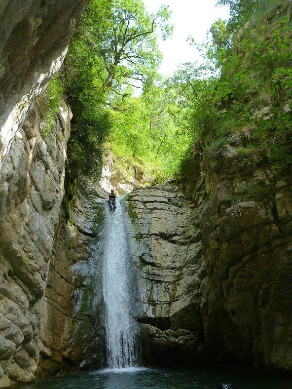 Canyon de la Bollène