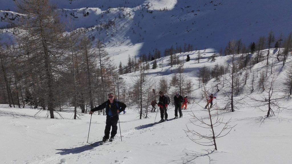 Randonnée à ski Pte Croche (Arpy)